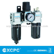 Air Source Treatment-XACT Series Filter Regulator Lubricator-FRL-Air Preparation Units-Air Filter Combination