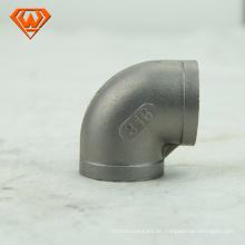 Edelstahl Rohrverschraubung BS4825 geschweißter Bogen mit geradem Ende Manufaktur CE / ISO