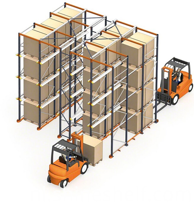 Drive in and Drive through Pallet Racking