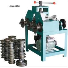 HHW-G76 / 76B máquina de dobra de tubos de rolamento elétrico