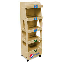 MDF Bodenbelag Energy Drink Display Stand