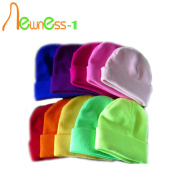 Chapéus coloridos elegantes Womens Winter