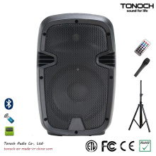 Factory Supply Portable 8 Inches Plastic Speaker with Multi-Function