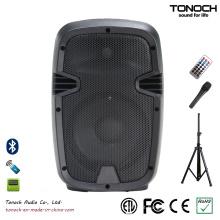 """8 """"alto-falante de áudio PRO de 300W com bateria"""