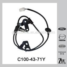 Nuevo sensor C100-43-71Y del ABS de la rueda trasera de la llegada para Mazda 323 626 CP