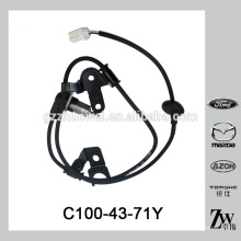 Nova chegada automotiva traseira ABS sensor de roda C100-43-71Y para Mazda 323 626 CP