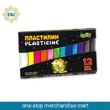 Promotional color plasticine