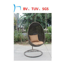 Outdoor Furniture Rattan Rocking Promotion Leisure Egg Swing Chair (CF1268H)