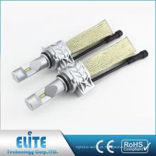 Bulbos brilhantes da substituição da luz branca do jogo 9006 6500K 4000LM da conversão do farol do diodo emissor de luz 5S