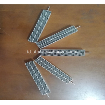 Aluminium Strip bergelombang Heat Sink untuk Air Conditioner