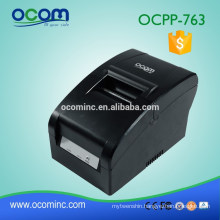 OCPP-763 76MM Width Printing Dot Matrix Impact Receipt Printer With Ribbon Auto Cutter
