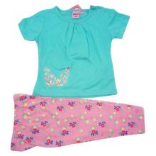 Bebê de verão menina crianças terno para roupas infantis
