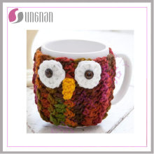 Knitted Coffee Mug Sleeve Warmmer Sweater Mug / Knitted Cup Sleeve