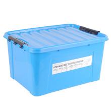 Caja de almacenaje de plástico HDPE de color sólido para el hogar (SLSN054)