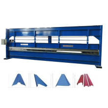 Roofing sheet cold bending roll forming machine