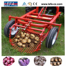 Cosechadora de patatas montada en tractor de 3 puntos y 30-30 HP aprobada por Ce