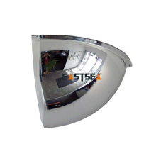 Exclusivo Duramir Unbreakable Multi Angle Quarter Dome Convex Security Mirror