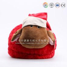 ICTI Audit China fábrica personalizada cualquier estilo felpa zapatillas de conejito