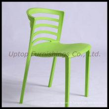 Chaise empilable en plastique vert Paolo Favaretto Venezia (SP-UC295)