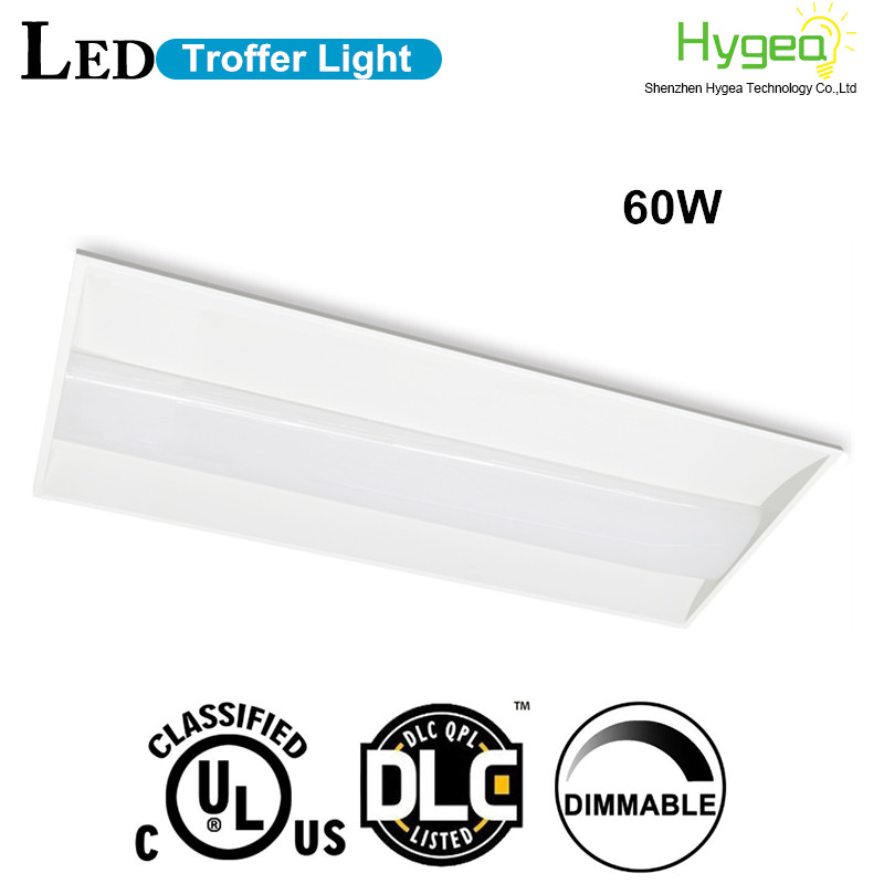 50W 5000K LED Troffer Light fixture