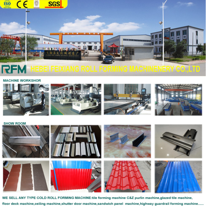 steel decking board floor production machine