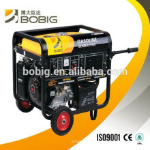 Sistema de generador de gasolina enfriado por aire caliente de la venta 6kw de la alta calidad