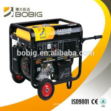 High quality hot sale 6kw air cooled gasoline generator set
