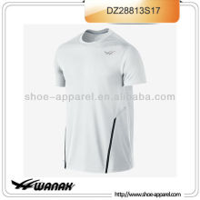 Custom 100% polyester tennis polo shirts for men