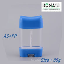 Factory Price 85g Clear Deodorant Stick Container