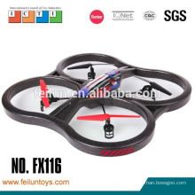2.4G 4 channel 6 axis black foam with camera rc portable helicopter