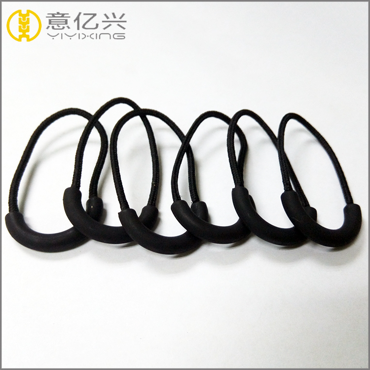 custom soft rubber zipper puller