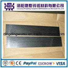 Alta calidad hoja/placa de tungsteno puro molibdeno hoja/placa precio de fábrica