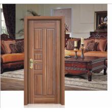 Noyer Couleur Simple Design Porte en bois massif