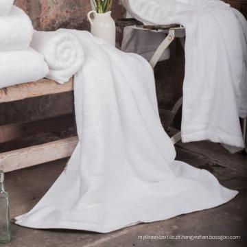 Toalhas de banho bordadas de hotel de luxo (DPF201654)