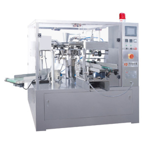 Liquid rotary packing machine