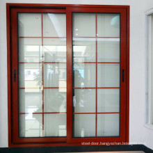 Used commercial glass modern entry doors designs aluminium frame cover waterproof french sliding door