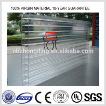 lexan polycarbonate transparent roofing sheet