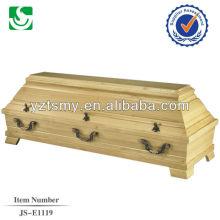 high quality larch cheap coffin