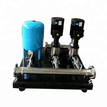 Sistema de abastecimento de água e pressão impulsionador da série MBPS