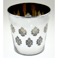 European Flower Vase with Flower Pattern
