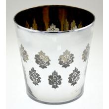 Europeu, flor, vaso, flor, padrão