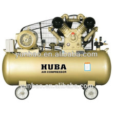 Compressor de ar industrial portátil silencioso de alta pressão do pistão