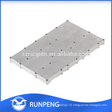 Customized metal parts italian die-casting aluminium radiator