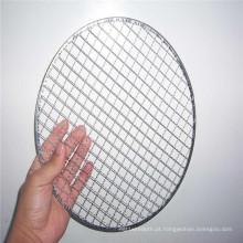 Ss304, 316, engranzamento de fio frisado de aço inoxidável