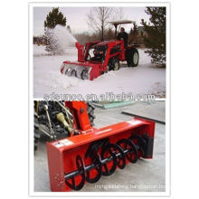 CX130 160 180 210 tractor front mounted snow blower