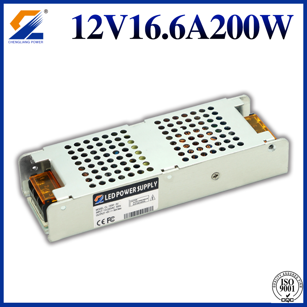 12V16.6A200W Slim power supply