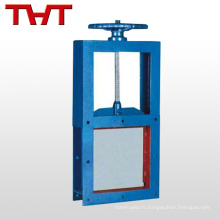 THT Vanne à guillotine de vanne d'arrêt automatique