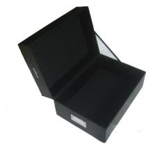 Caja de empaquetado de papel con logotipo de Customzied