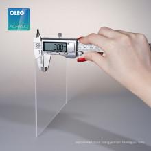 Clear acrylic plexiglass 4 x 8 sheet plexiglass plaque