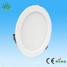 2014 новый белый тонкий светодиодный потолочный светильник 100-240v 4-дюймовый smd5730 9w карданный подвесной светильник